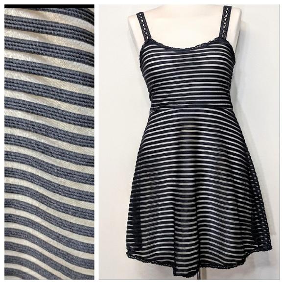 Free People Dresses & Skirts - Free People Stripe Slip Dress